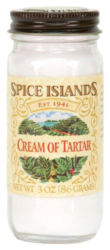 Spice Islands Cream of  Tarter, 3-Ounce (Pack of 3)