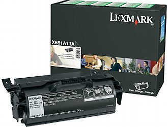 (Lexmark X651A11A Toner Cartridge, Black-in Retail Packaging)
