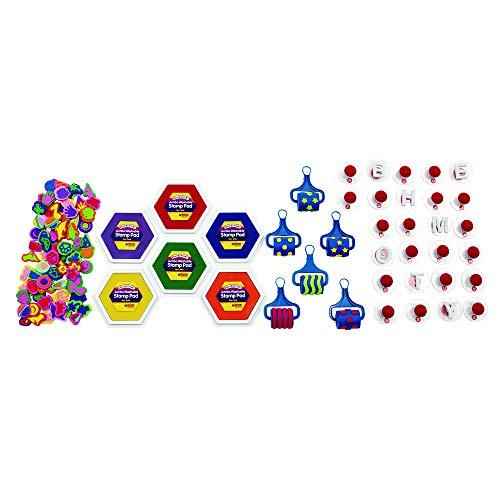 (Colorations Jumbo Stamp Pad Classroom Kit (Item # Stamp))