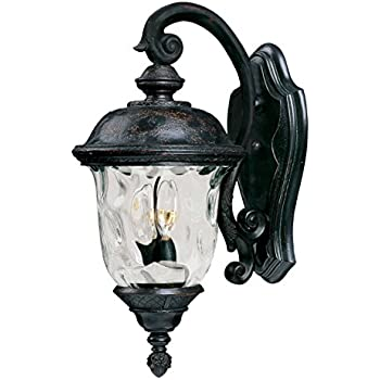 Maxim 40496WGOB, Carriage House VX 2-Light Outdoor Wall Lantern, Oriental Bronze