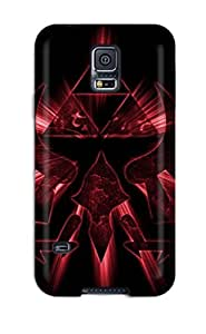 High-quality Durability Case For Galaxy S5(emblem In Red)