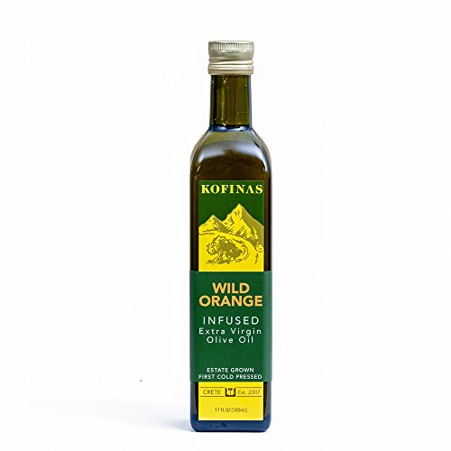 Wild Orange Infused Extra Virgin First Cold Pressed Olive Oil 500 Ml (17 Oz) (Wild Orange ()