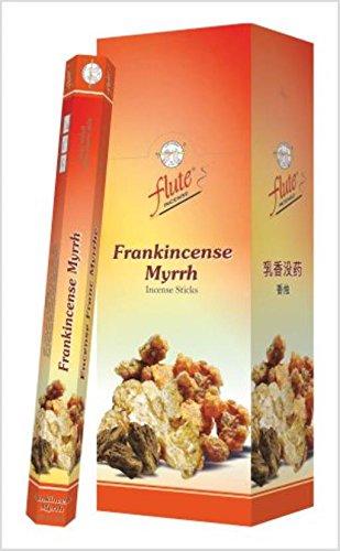Frankincense Myrrh Incense Sticks 20 Sticks/Tube, 6 Tubes/Box Price is for The Box Flute 1