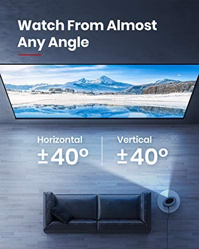 Anker Nebula Cosmos Full HD 1080p Home Entertainment Projector, 1080p Video Projector,900 ANSI Lumens, Android TV 9.0, Digital Zoom, HLG, HDR10 41ocS4PPITL
