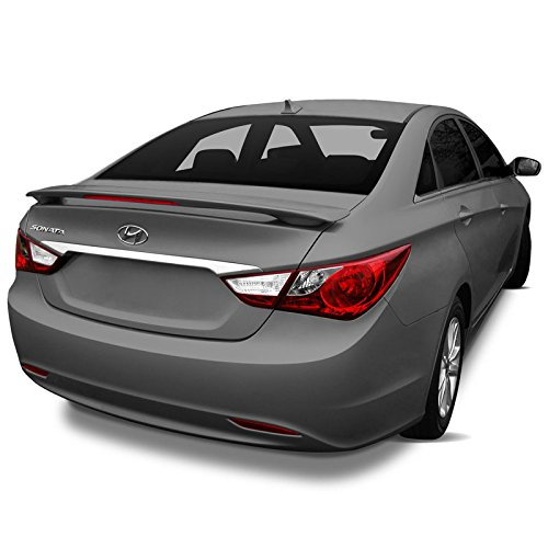 11 Lighted Custom Style Pedestal Spoiler Compatible with Hyundai Sonata - Remington RED (RER) ()
