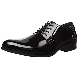 Unlisted by Kenneth Cole Men's H-EEL The World Tuxedo Oxford, Black, 11 M US