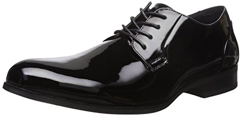 KENNETH COLE Men's H-eel The World Tuxedo Oxford, Black, 10.5 M US -