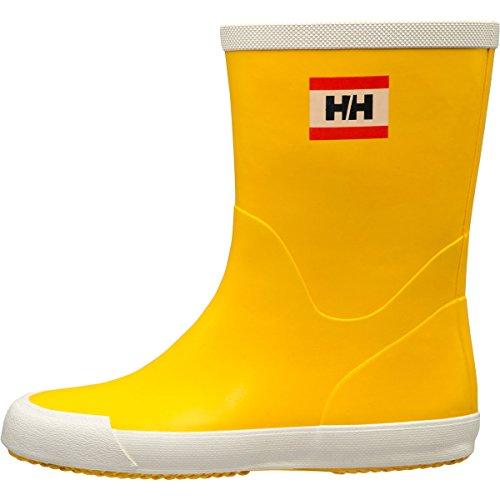 Helly Hansen Donna W Nordvik Rain Boot Essential Yellow / Off White (matte)