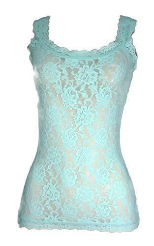 Hanky Panky Signature Lace Classic Camisole, Woman Lingerie,1390LP L, Pistachio ()