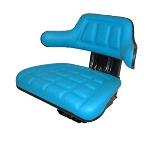 - Universal Fit Blue Tractor Seat for Ford 2000 3000 4000 5000 7000 Hesston More