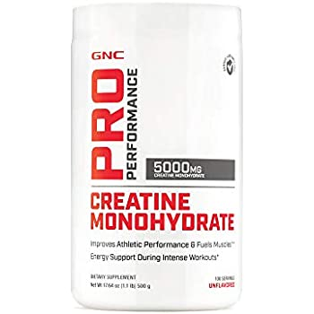 GNC Pro Performance Monohydrate, Unflavored, 100 Servings