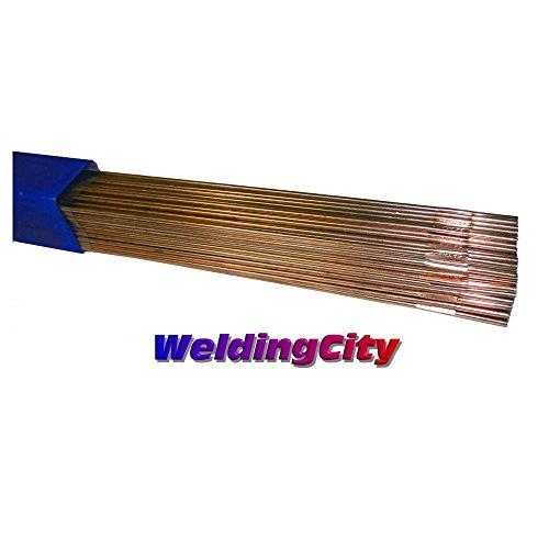 WeldingCity 10-Lb ER70S-6 Mild Steel TIG Welding Rods 1/8''x36'' by WeldingCity