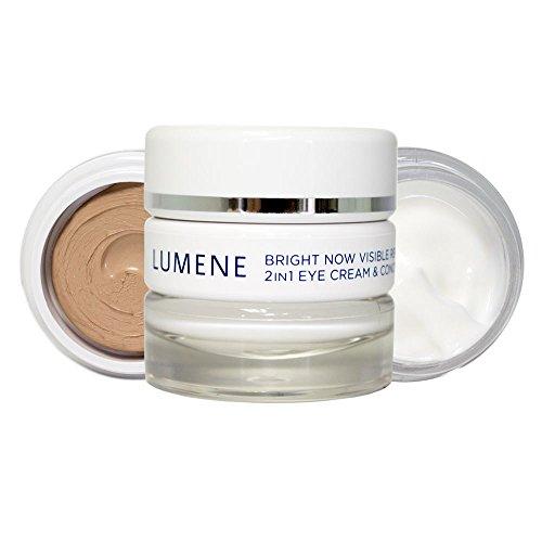 Lumene Bright Now Visible Repair 2 in 1 Eye Cream and Concealer, 0.57 Fluid Ounce by Lumene by Lumene