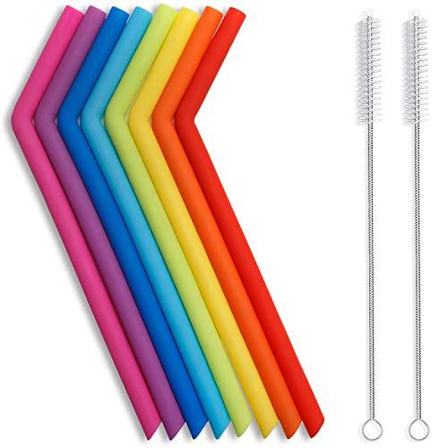 Hiware Reusable Silicone Straws
