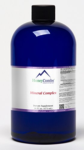 16oz Mineral Complex - Essential & Trace Minerals Plus Organic Herbs - 16-Ounce Alcohol-Free Liquid Extract