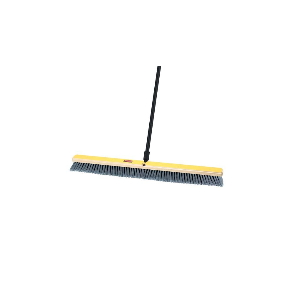 Rubbermaid Commercial Hardwood Block Medium Broom Head, 36''