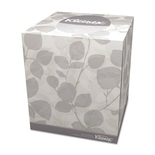 Kleenex Boutique White Facial Tissue, 2-Ply, Pop-Up Box, 95/Box, 36 Bo
