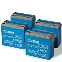 48V 20Ah 6-DMZ-20 eBike Battery Set - 12V 20Ah 6-DZM-20 Batteries