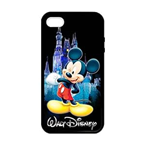 Mickey Mouse Image Protective Iphone 5s / Iphone 5 Case Cover Hard Plastic Case for Iphone 5 5s