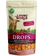 Living World Drops Rabbit Treat, 2.6-Ounce, Carrot