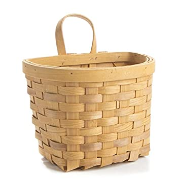Amazon.com: Factory Direct Craft Woven Chipwood Wall Basket for Home ...