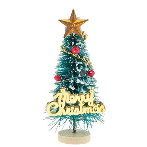 (Figurines Miniatures - Miniature Christmas Tree Merry Letters Board Wooden Stand Decoration - Kids Christmas For)