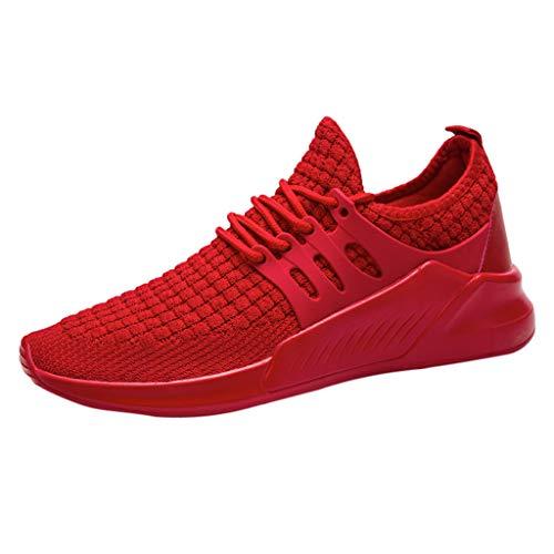 Con Hombre Rojo Calzado Deporte Del Deportivo Zapato Corrientes De Zapatillas Cordones Alpinismo Respirables 2019ocasional ASCaq7q