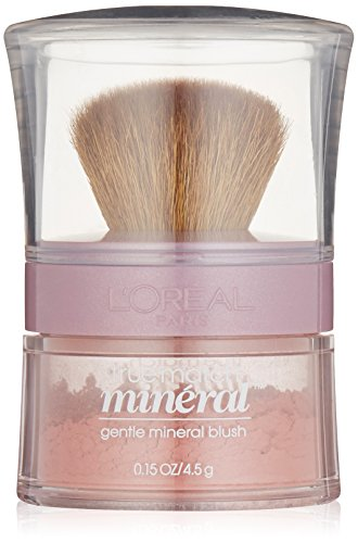 Loreal Bare Naturale Mineral Makeup - L'Oreal Paris True Match Gentle Mineral Blush, Pinched Pink [486] 0.15 oz