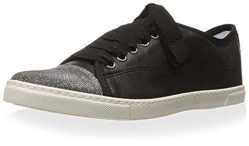 Lanvin Women's Low Sneaker, Black, 38 M EU/8 M - Lanvin Shop