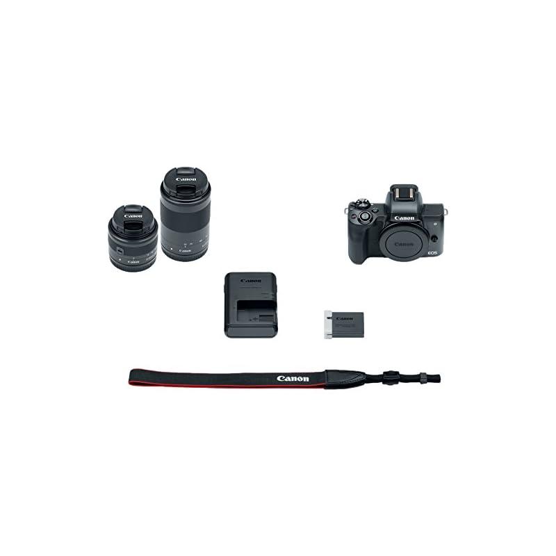 Canon EOS M50 Mirrorless Camera Body and