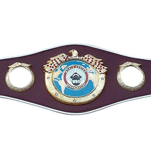 - WBO Boxing Replica Championship Belt Metal Plates Adult Premium Quality Leather