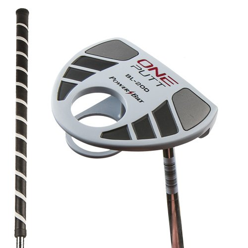 PowerBilt TPS BL-200 One Belly Putter (43″, White Finish) BL200 Golf NEW, Outdoor Stuffs