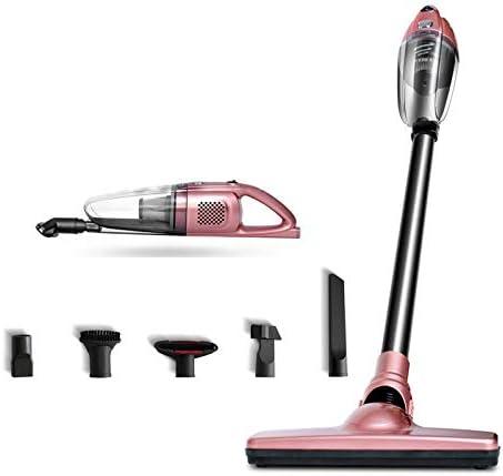 APENCHREN Aspirador de Mano inalámbrico/Aspirador de alfombras, portátil, Recargable - para el hogar, automóvil, pelos de Animales y ácaros, con una Fuerte aspiradora,Pink: Amazon.es: Hogar
