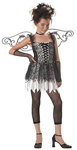Angel Halloween Costumes For Tweens (Dark Angel Gothic Tween Halloween Costume)