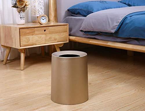Nordic Wind Double Corbeille Accueil Salon Panier en Papier Cuisine Salle De Bain Corbeille /À La Mode