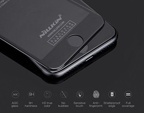 NILLKIN Coque 3D CP Plus Max Film protecteur d'écran en verre anti-explosion pour Apple iPhone 7–Noir