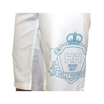 "Size L 32/"" Waist Helly Hansen Womens White Blue W Boston Boardshorts 51105"