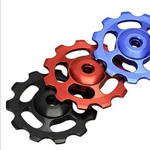 Tivollyff アルミ合金ジョッキーホイール11T自転車テンションホイールリアディレイラープーリーガイドプーリーサイクリングバイクアクセサリー