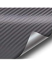 Gunmetal Dark Grey 3D Carbon Fiber Vinyl Wrap Roll with VViViD XPO Air Release Technology