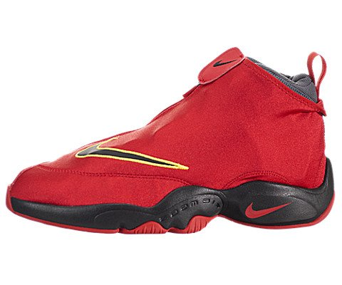 on sale 86dbe 37d10 Nike Air Zoom Flight The Glove Mens Basketball Shoes 616772-600 University  Red Black-Dark Grey-Tour Yellow 9 M US - Buy Online in Oman.