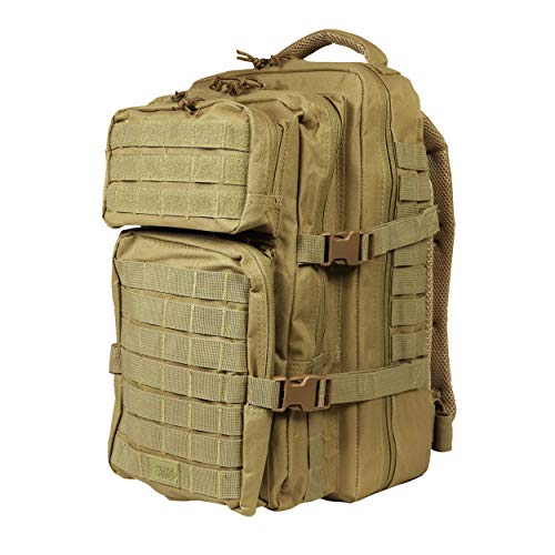 Osage River Fly Fishing Backpack, Tackle and Rod Storage, Khaki (Tool Rod Box Fishing Holder)