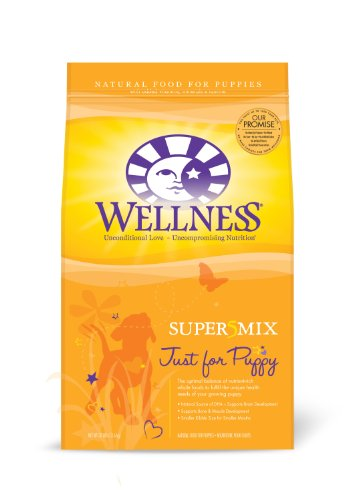 Wellness Super5Mix Dry Dog Food, Just for Puppy Recipe, 30-Pound Bag, My Pet Supplies