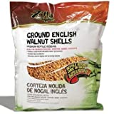 Zilla 11993 Englsh Walnut Shells Bedding, 50LB