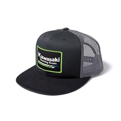 e8fa57cc3fe Amazon.com  Powersport Team Kawasaki Trucker Hat Fits All  Automotive