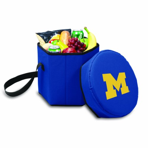 Michigan Wolverines Ncaa Collapsible - NCAA Michigan Wolverines Bongo Insulated Collapsible Cooler, Navy