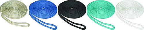SeaSense Double Braid Nylon Dockline, 5/8-Inch X 20-Foot, Blue
