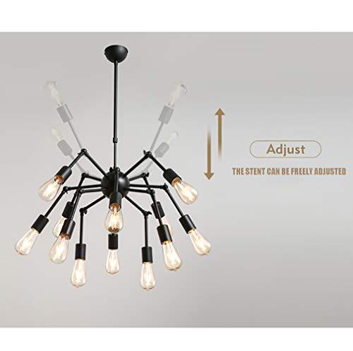 Amazon.com: HYYK Sputnik lámparas de araña, retro industrial ...