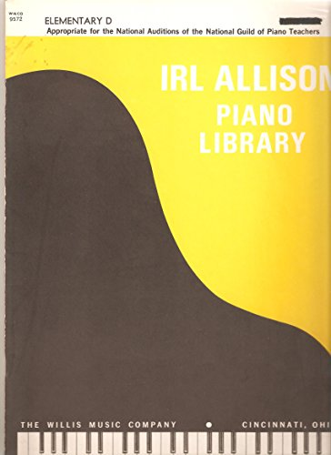 Irl Allison Piano Library Elementary D ()