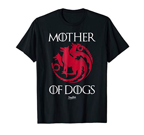 Mother Of Dogs Mom Cool Dog Owner Funny Dog Lover T Shirt
