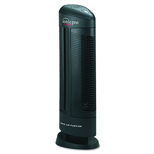 Ionic Pro 90IP01TA01W Turbo Ionic Air Purifier, 500 sq ft Room Capacity, Black